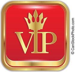 Golden icon VIPVector
