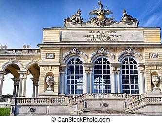 Gloriette pavilion in Schonbrunn Palace, Vienna