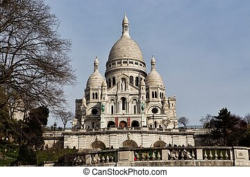 Basilica Sacre Coeur in Paris