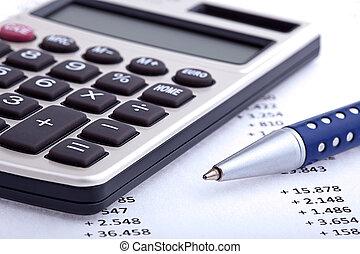 事務, 財政, 分析