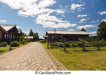 Russian Village attractions in Verkhniye Mandrogi - Russia's...