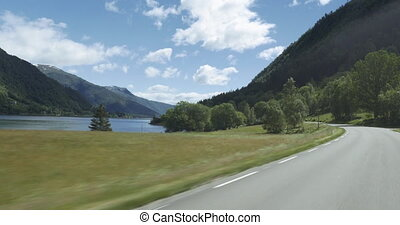 4K Scenic Drive, Sognefjord, Norway