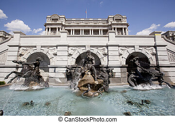 WASHINGTON D.C. - MAY 23, 1014: The Court of Neptune...