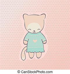 Cute cat clothing