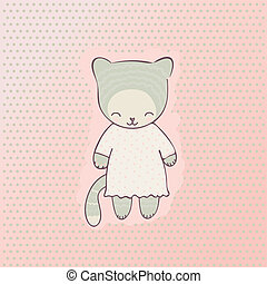Cute cat clothing