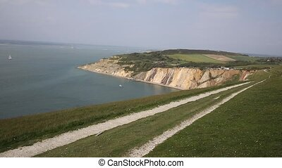 Alum Bay Isle of Wight by Needles - Alum Bay Isle of Wight...