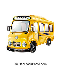 School bus - Illustration of School bus