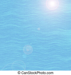 Sea wave background.