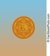 Chinese symbol Yin-yan
