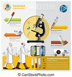 Science And Experimentation Infographic Design Template