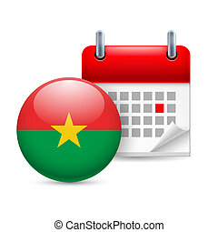 Icon of National Day in Burkina Faso