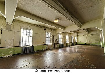 Alcatraz Dining Hall, San Francisco, California - The Dining...