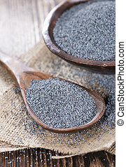 Portion of Poppyseed - Small portion of Poppyseed (detailes...