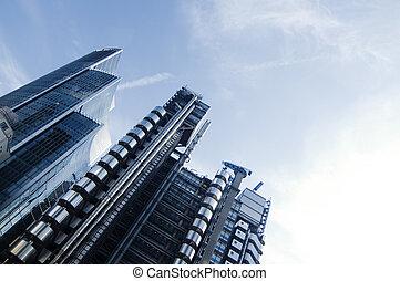 Modern futuristic architecture