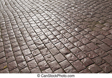 cobblestone - Cobbles on the street - can be used as...