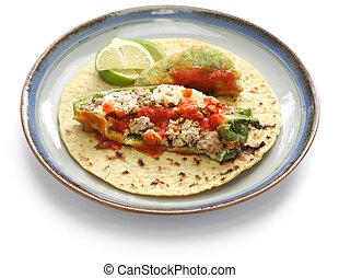 chile relleno(stuffed chili)tacos, - chile relleno tacos,...