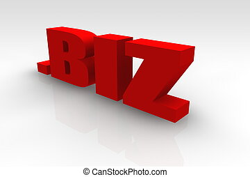 biz or Dot Biz Website Url Symbol