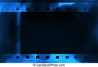 negative film roll background and texture