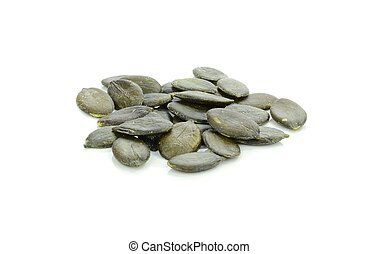 A Pile of Pumpkin Seeds
