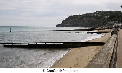 Shanklin beach Isle of Wight - Shanklin Isle of Wight...