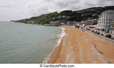 Ventnor beach Isle of Wight - Ventnor Isle of Wight south...