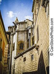 Cathedral facace, Tourism, Toledo, most famous city in spain
