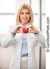 Your heart in good hands
