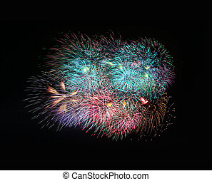 fireworks or firecracker. - fireworks or firecracker on...