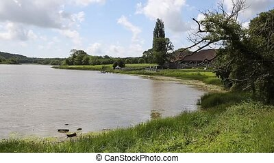 Mill Pond Wootton Bridge Isle of - Wootton Bridge Isle of...