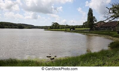 Wootton Bridge pond Isle of Wight - Wootton Bridge Isle of...