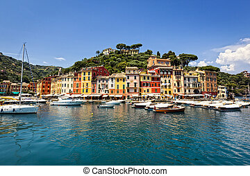 Portofino Italy - Beautiful Portofino on the Italian Riviera...