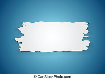 Abstract ragged paper background