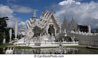 Fishes and Wat - Wat Rong Khun More well-known as the White...