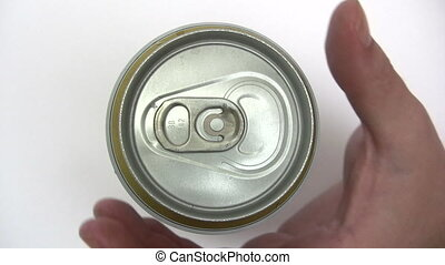 Opening a Beer Can - Canon HV30. HD 16:9 1920 x 1080 @ 25.00...