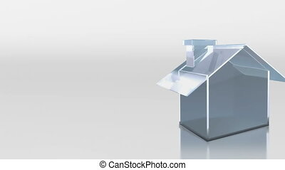 investment glass house sale rent - the house graphic 3d...