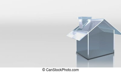 investment glass house sale sold - the house graphic 3d...