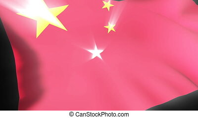 Chinese Flag - 3d Chinese Flag