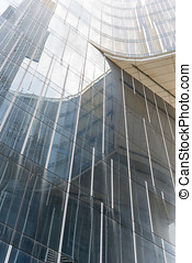 Building glass - Different views of a glass building