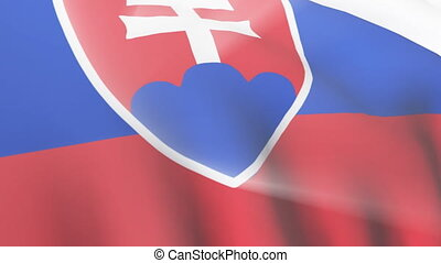 Slovak Flag - 3D Slovak Flag