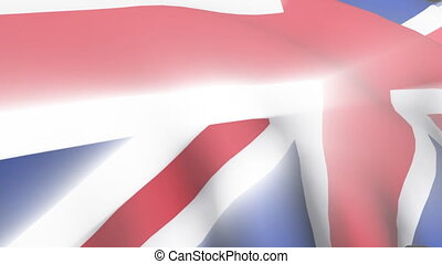 United Kingdom Flag - 3D United Kingdom Flag