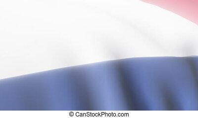 Netherlands Flag - 3D Netherlands Flag