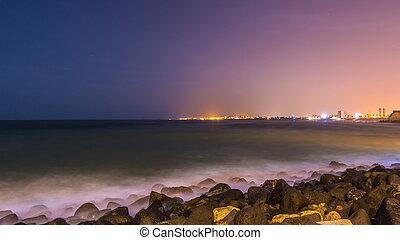 Shores of Dakar - The beautiful waters of the Atlantic ocean...