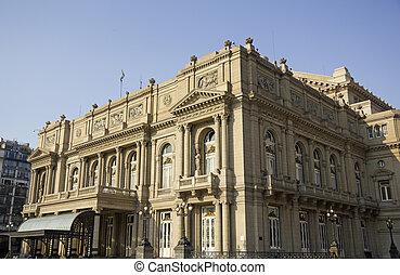 Colon Theatre, Buenos Aires, Argentina. - Colon Theatre...