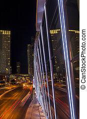 Las Vegas Strip by night. - Las Vegas Strip by night,...