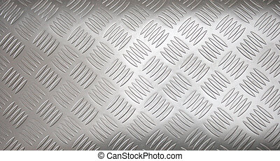 pattern - Stainless-steel treadplate with a somewhat unusual...