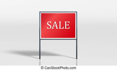 shop signage stand discount HD - the promotion signage of...