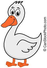 a goose profile
