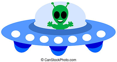 an alien ship