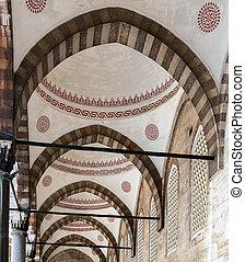 design Sultanahmet Mosque in Istanbul, Turkey - Interior...