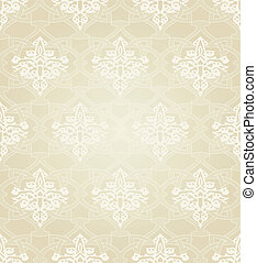Seamless Pattern in Traditional Islamic Motif - Seamless...
